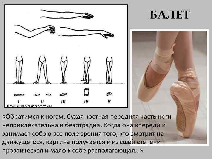 Картинка позиция ног в танце