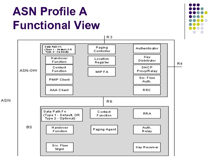 ASN Profile A Functional View