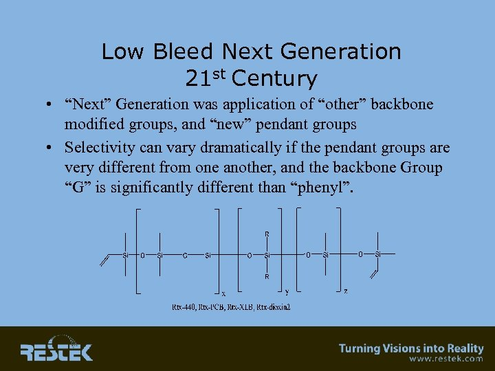 "Low Bleed Next Generation 21 st Century • ""Next"" Generation was application of ""other"""