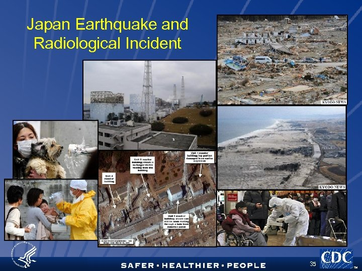Japan Earthquake and Radiological Incident 35 TM