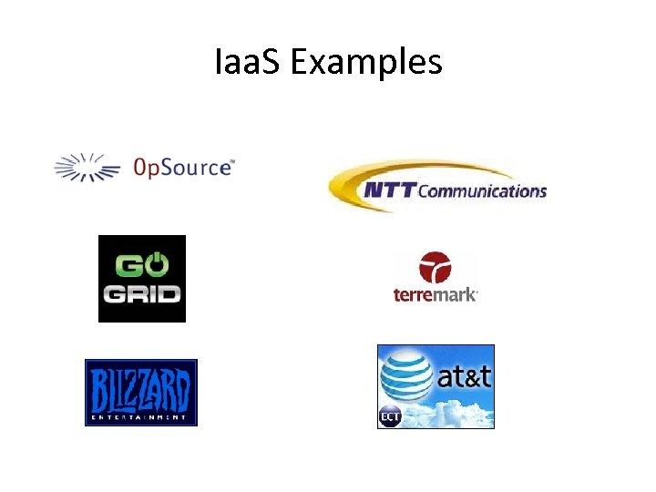 Iaa. S Examples