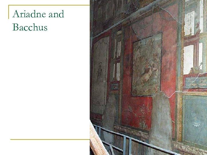 Ariadne and Bacchus