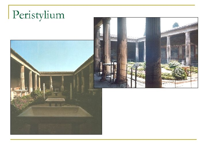 Peristylium