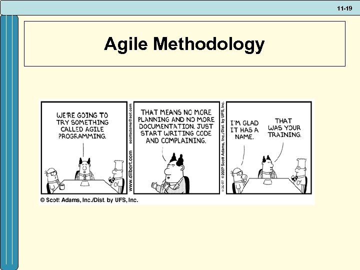 11 -19 Agile Methodology
