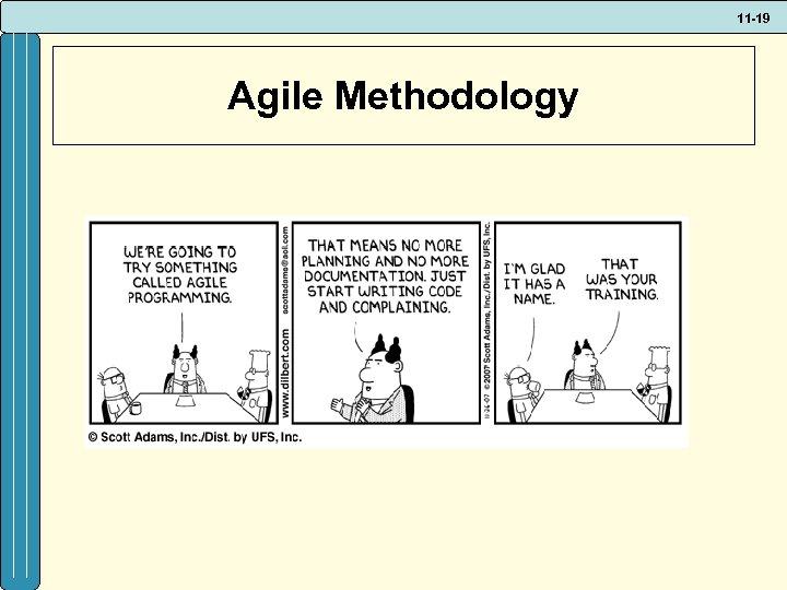 11 -19 Agile Methodology