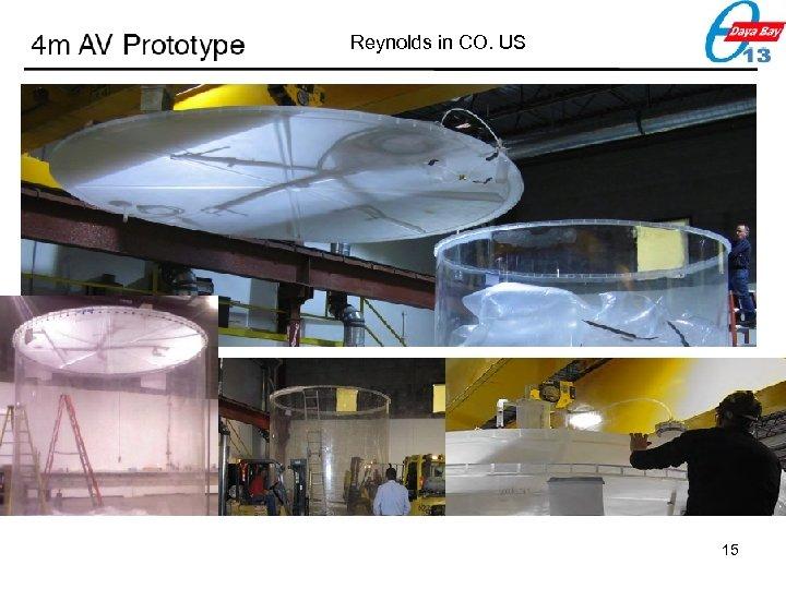 Reynolds in CO. US 15