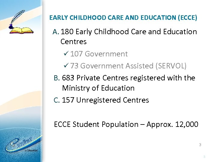 early childhood education in trinidad and tobago
