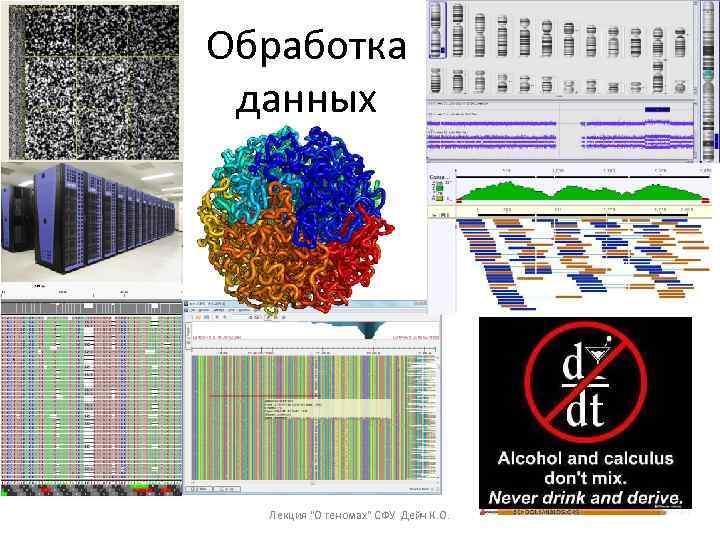 Обработка данных Лекция