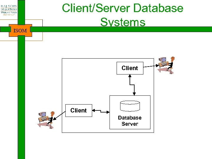 ISOM Client/Server Database Systems Client Database Server