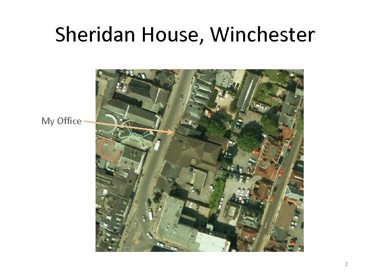 Sheridan House, Winchester My Office 2