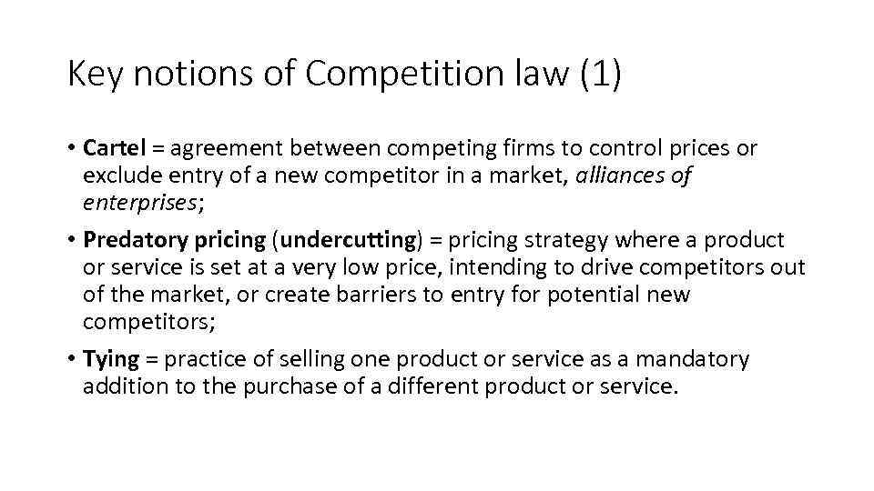 the various barriers to competition available to firms A perfectly competitive market is a hypothetical market where competition is at its greatest possible level knowledge is freely available to all participants, which means that risk-taking is minimal and the role of the there are no barriers to entry, so existing firms cannot derive any monopoly power.