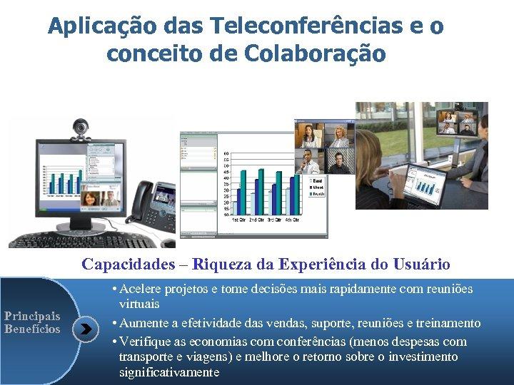 Aplicação das Teleconferências e o conceito de Colaboração Capacidades – Riqueza da Experiência do