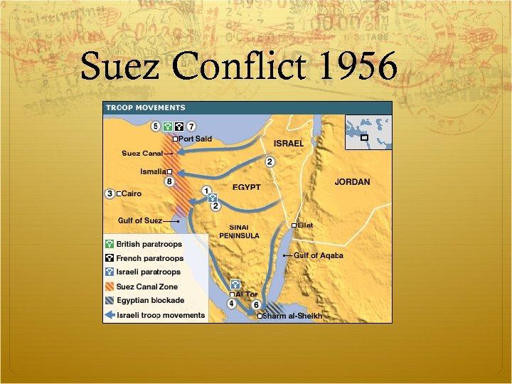 Suez Conflict 1956
