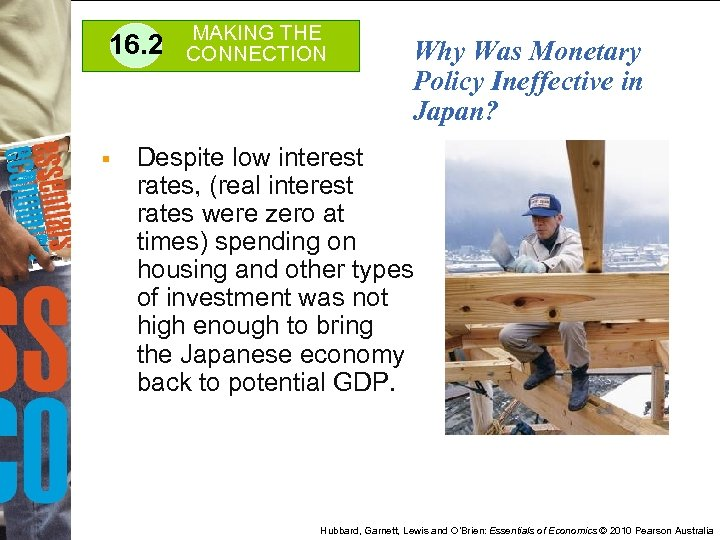16. 2 § MAKING THE CONNECTION Why Was Monetary Policy Ineffective in Japan? Despite