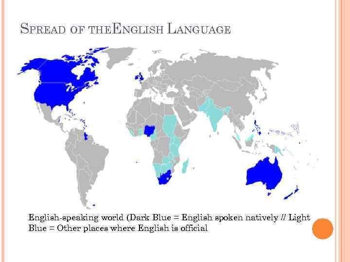 the spread of the english language The spread of english: the sociology of english as an additional language joshua a fishman , robert leon cooper , andrew w conrad snippet view - 1977 common terms and phrases.