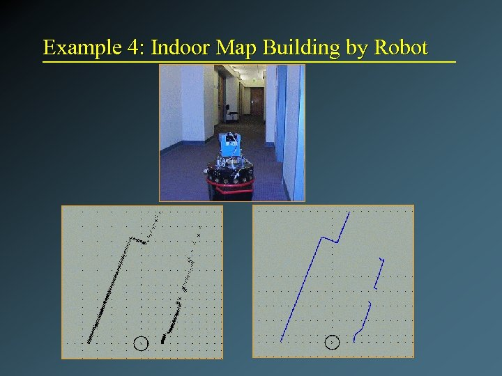 Example 4: Indoor Map Building by Robot
