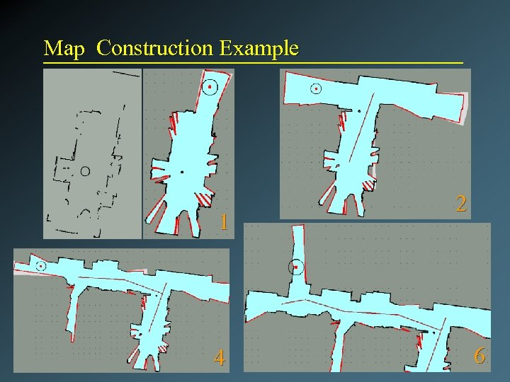 Map Construction Example 1 4 2 6