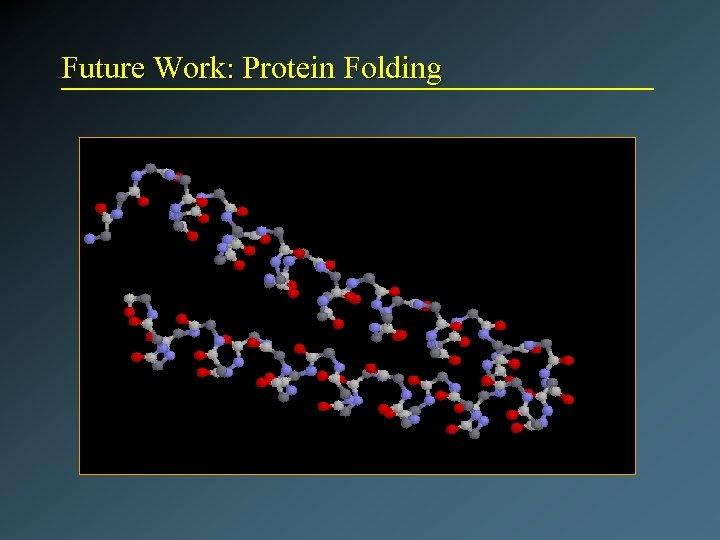Future Work: Protein Folding
