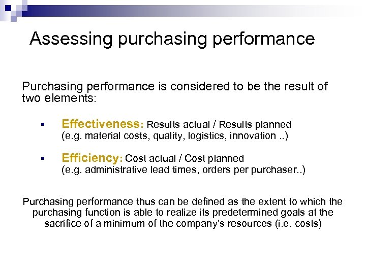 purchasing function definition