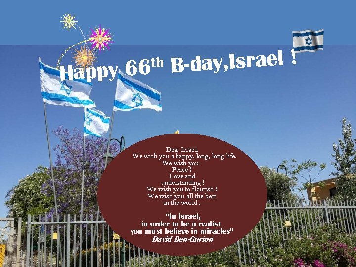 ay, Israel ! ppy 66 B-d Ha th Dear Israel, Drága hazánk, Izrael, ,