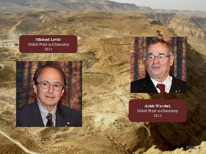 Michael Levitt Nobel Prize in Chemistry 2013 Arieh Warshel, Nobel Prize in Chemistry 2013