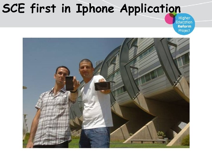 SCE first in Iphone Application