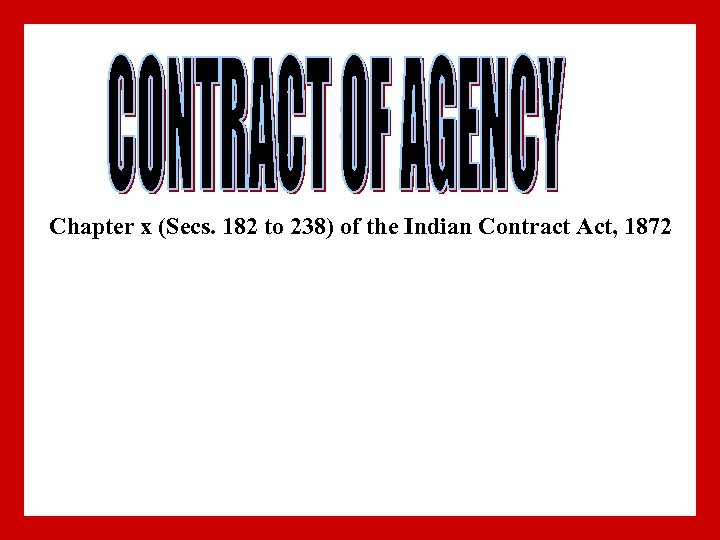 the indian contract act Indian contract act 1 indian contract act 18721 08/30/12 2 introduction law of contract - foundation upon which the superstructure of modern business is built business - promise made between parties - performance follows later breaking of a promise - without incurring liability - endless complications2 08/30/12.