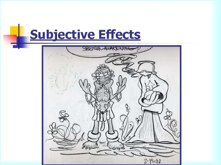 Subjective Effects