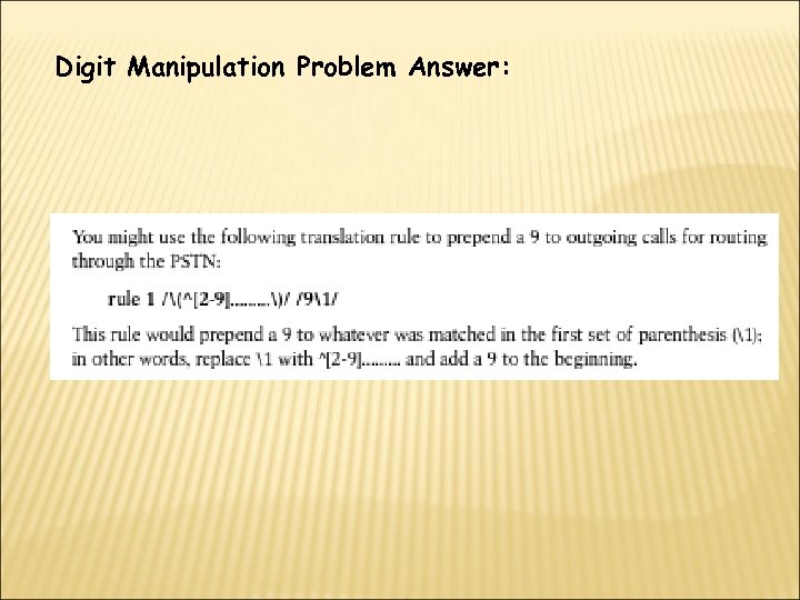 Digit Manipulation Problem Answer: