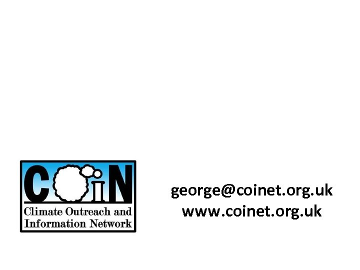 george@coinet. org. uk www. coinet. org. uk
