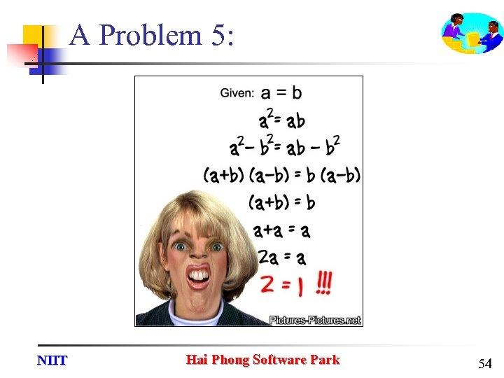 A Problem 5: NIIT Hai Phong Software Park 54