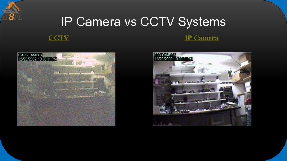 IP Camera vs CCTV Systems CCTV IP Camera