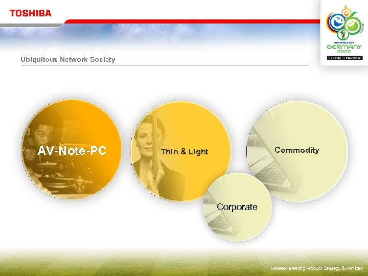 Ubiquitous Network Society AV-Note-PC Commodity Thin & Light Corporate Reseller Meeting Product Strategy &