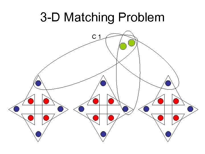 3 -D Matching Problem C 1