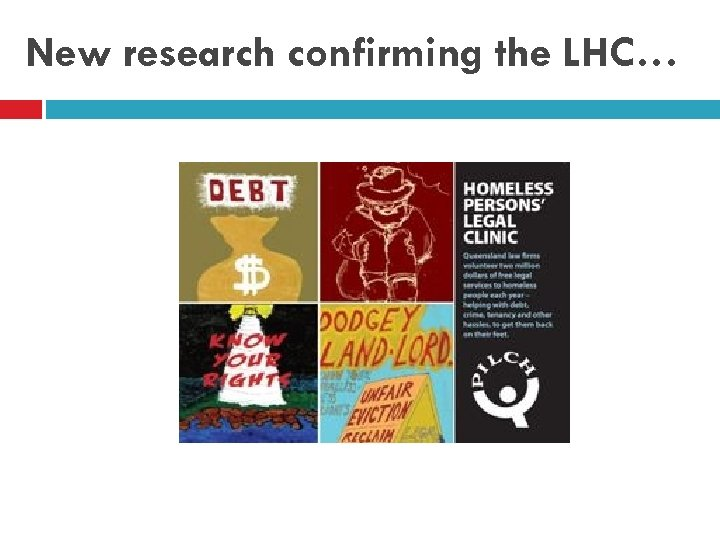 New research confirming the LHC…