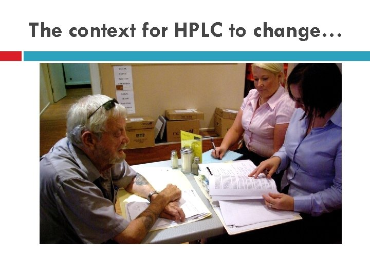 The context for HPLC to change…