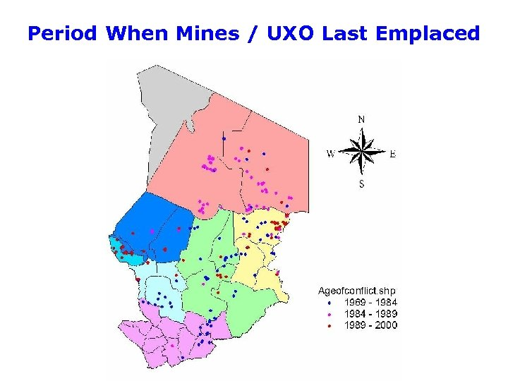 Period When Mines / UXO Last Emplaced