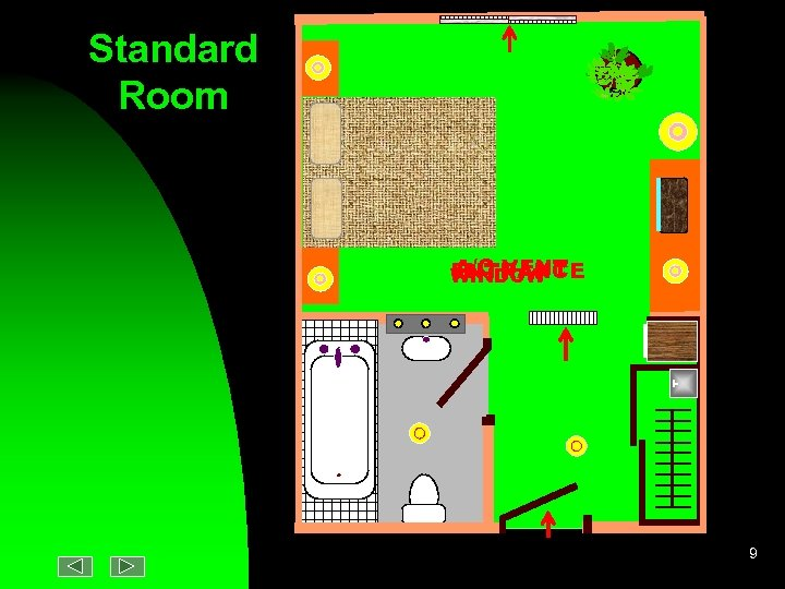 Standard Room A/C VENT ENTRANCE WINDOW 9