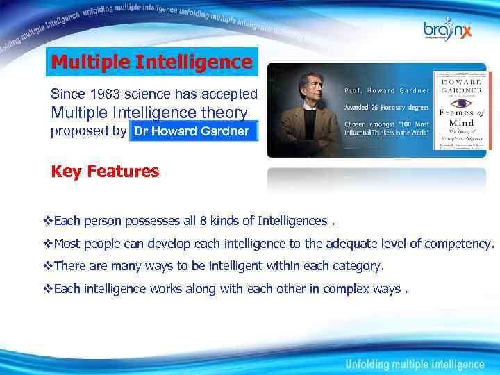 what is meant by multiple intelligence How does, or would, naturalistic intelligence differ from a more expansive intelligence — say, cosmic intelligence or awareness cosmic intelligence might be defined as the ability to recognize and discern both subtle and overt patterns in the activity of natural elements, other species, and humans.