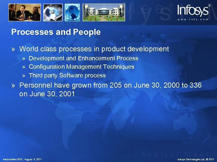 Processes and People » World class processes in product development » Development and Enhancement