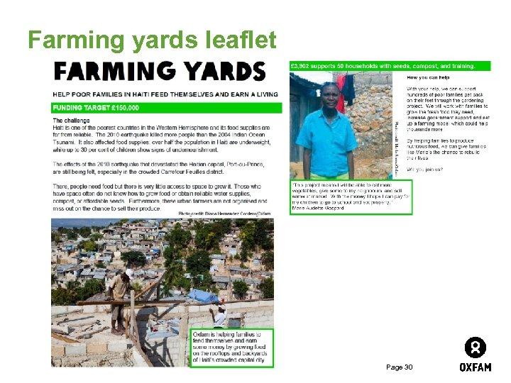 Farming yards leaflet Page 30