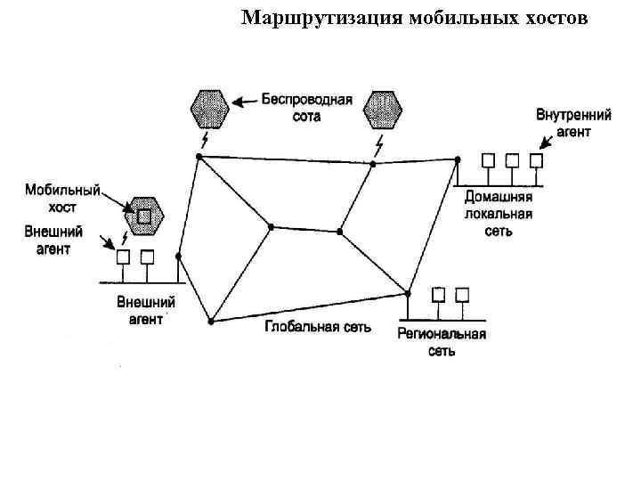 Маршрутизация мобильных хостов