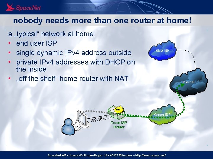 """nobody needs more than one router at home! a """"typical"""" network at home: •"""