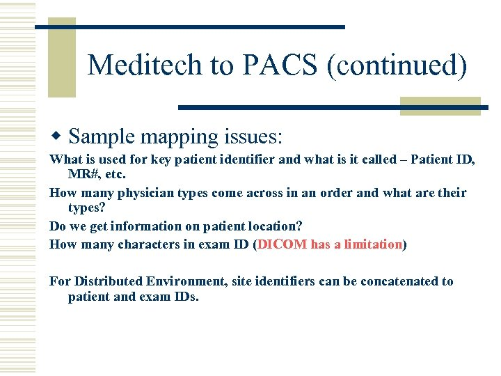 Implementing a PACS By Ginny Poulin RN MS