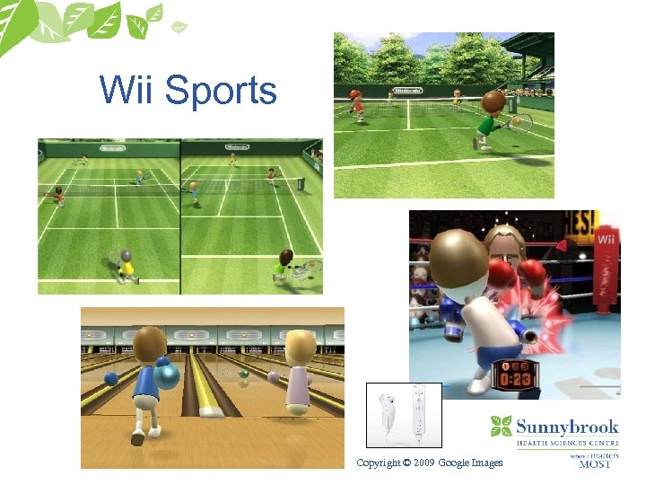Wii Sports Copyright © 2009 Google Images