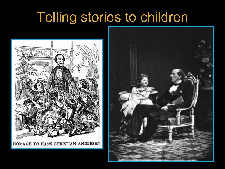 Telling stories to children