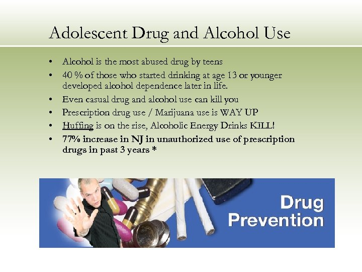 an introduction to the issue of the most abused drug by teenagers in todays society alcohol Although illegal drugs take their toll on american society, 2 legal drugs—alcohol and tobacco—pose perhaps the greatest danger to children and teenagers both represent significant gateway drugs and are among the earliest drugs used by children or teenagers.