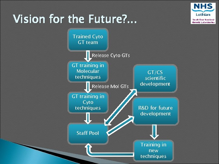 Vision for the Future? . . . Trained Cyto GT team Release Cyto GTs