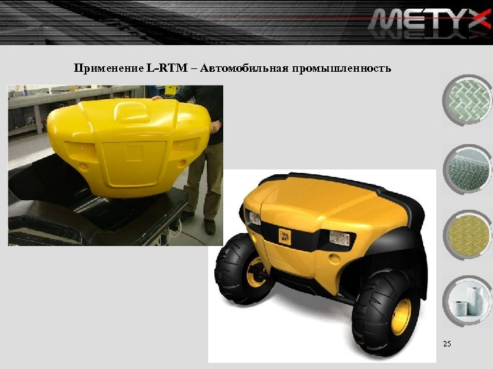 Применение L-RTM – Автомобильная промышленность 25