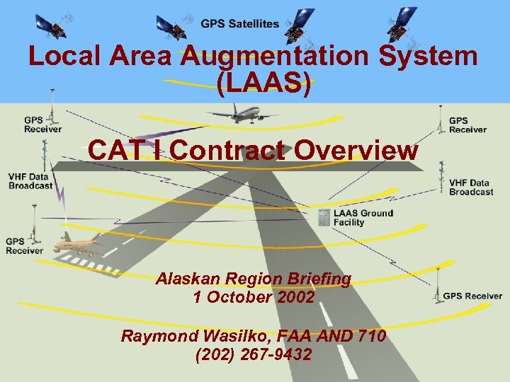Local Area Augmentation System (LAAS) CAT I Contract Overview Alaskan Region Briefing 1 October